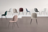 Beetle Dining Chair - Seat Upholstered - Conic base