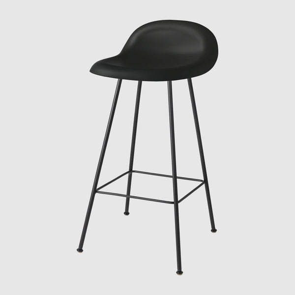 3D Counter Stool - Un-upholstered, 65 cm, Center base