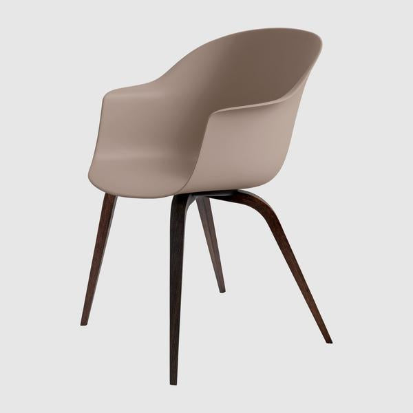 Bat Dining Chair - Un-Upholstered, Wood base