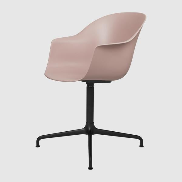 Bat Meeting Chair - Un-Upholstered, Swivel Base