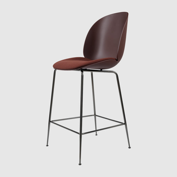 Beetle Counter Chair Seat Upholstered 65 Cm Gubi Webshop
