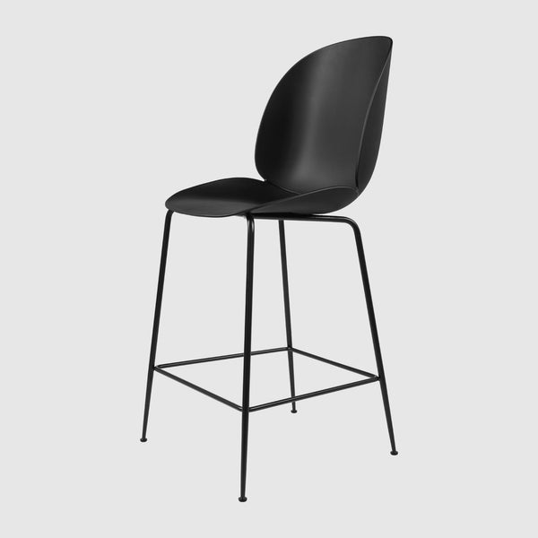Beetle Counter Chair   Un Upholstered   65 Cm