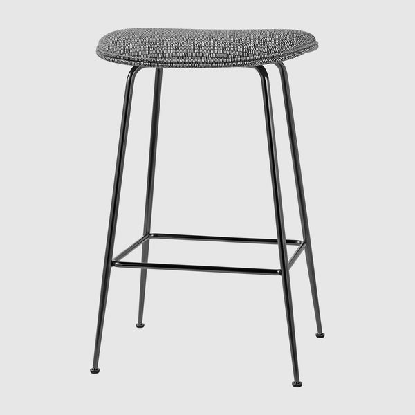 Beetle Counter Stool - Fully Upholstered - 65 cm