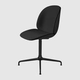 Beetle Meeting Chair - Front Upholstered - 4-Star Swivel Base