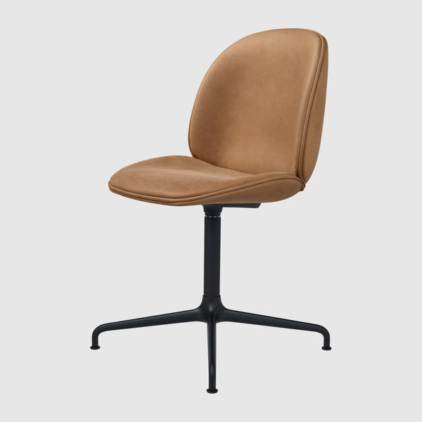 Beetle Meeting Chair - Fully Upholstered - 4-Star Swivel Base