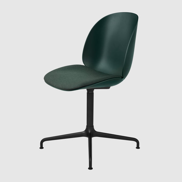 Beetle Meeting Chair - Seat Upholstered - 4-Star Swivel Base