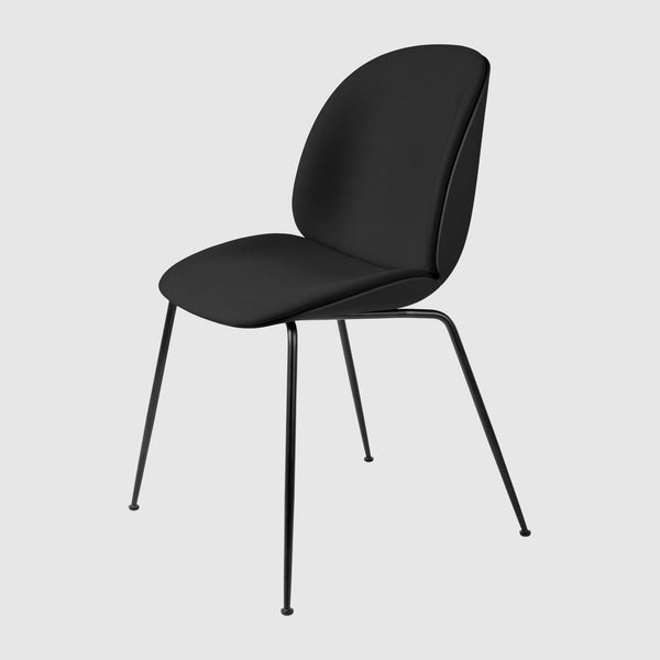 Beetle Dining Chair - Front Upholstered - Conic base