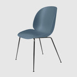 Beetle Dining Chair - Un-Upholstered, Conic Base