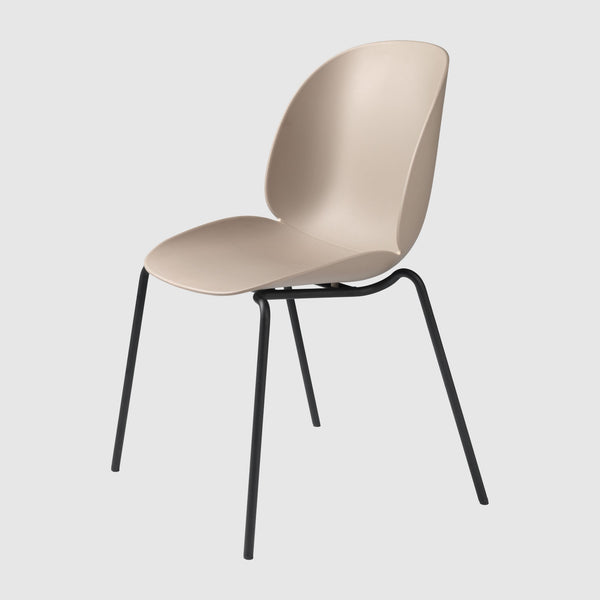 Beetle Dining Chair - Un-Upholstered, 4-Leg, Stackable