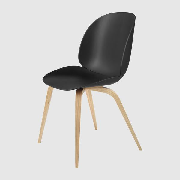 Beetle Dining Chair - Un-Upholstered - Wood Base
