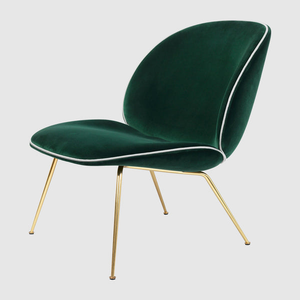 Beetle Lounge Chair Fully Upholstered Gubi Webshop