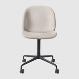 Beetle Meeting Chair - Front Upholstered - 4-Star Base W/ Castors