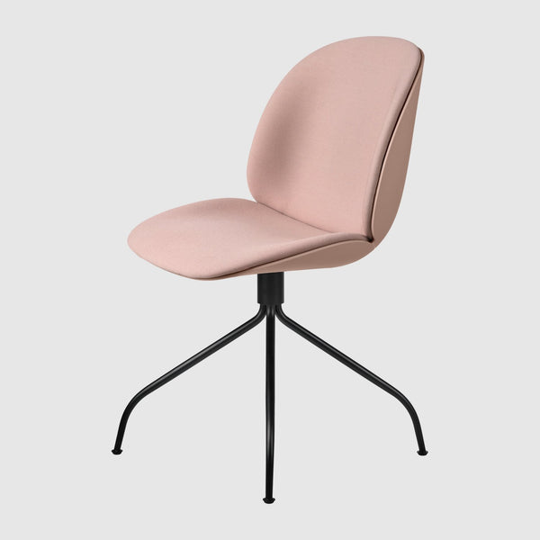 Beetle Meeting Chair - Front Upholstered, Swivel base