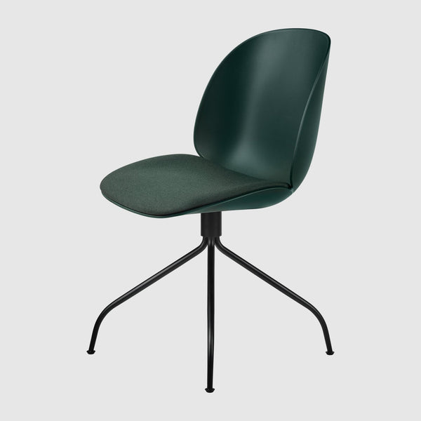 Beetle Meeting Chair - Seat Upholstered, Swivel base
