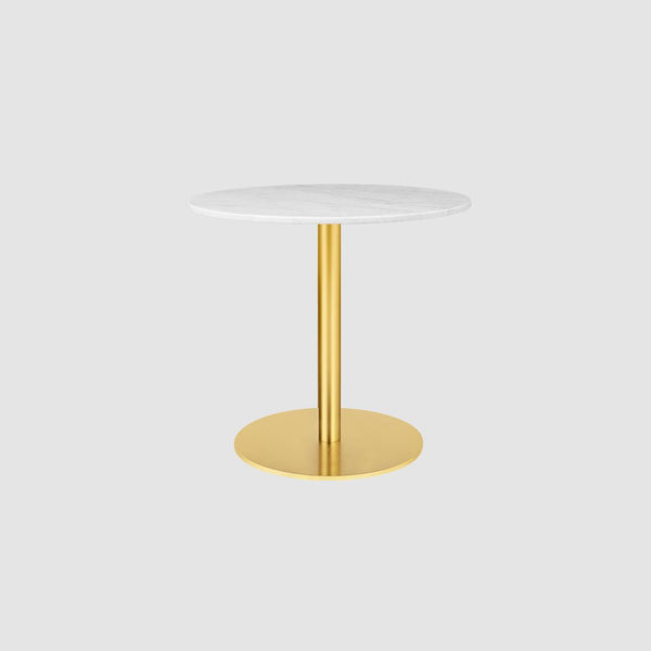 GUBI 1.0 Dining Table - Round, 80cm diameter