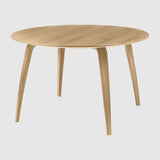 GUBI Dining Table - Round, 120cm diameter