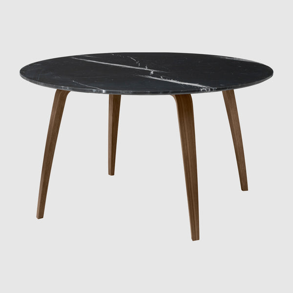 GUBI Dining Table - Round, 130cm diameter