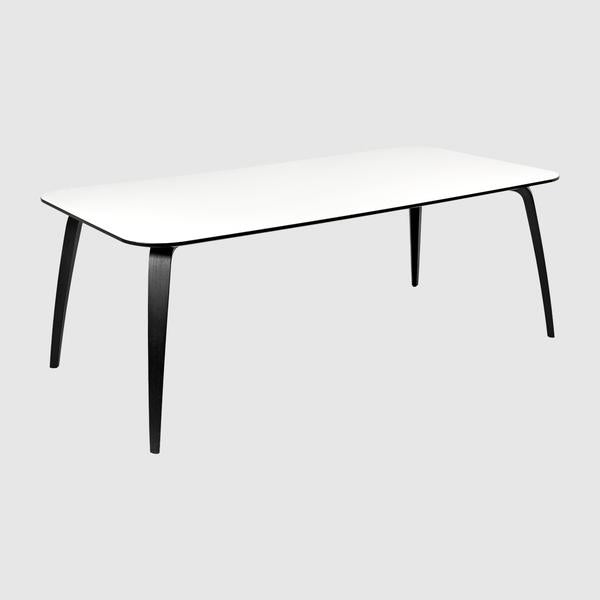 Gubi Dining Table Rectangular 100x200 Gubi Webshop
