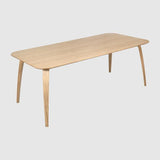GUBI Dining Table - Rectangular, 100x200