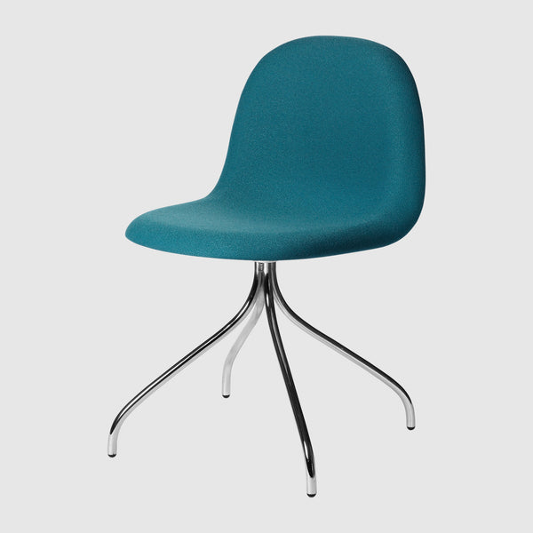 3D Meeting Chair - Fully Upholstered - Swivel base