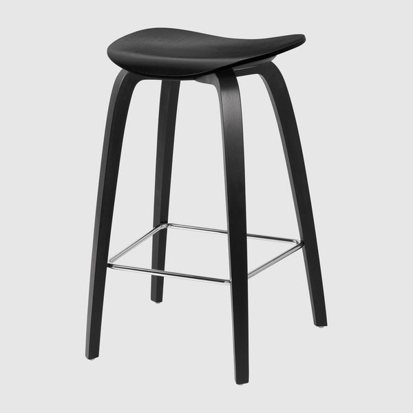 2D Counter Stool - Un-Upholstered, 65, Wood Base