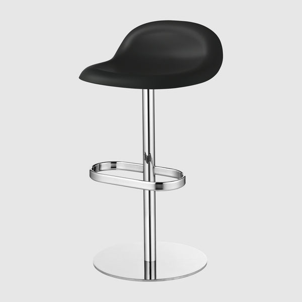 3D Counter Stool - Un-upholstered - 65 cm - Swivel base