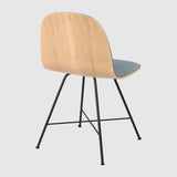 2D Dining Chair - Front Upholstered - Center base