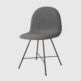 3D Dining Chair - Front Upholstered - Center base