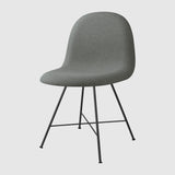 3D Dining Chair, Upholstered - Center base