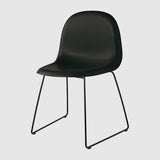 3D Dining Chair - Sledge base
