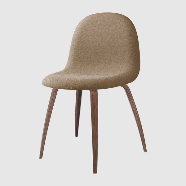 3D Dining Chair - Fully Upholstered - Wood base