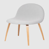 3D Lounge Chair - Fully Upholstered - Wood base
