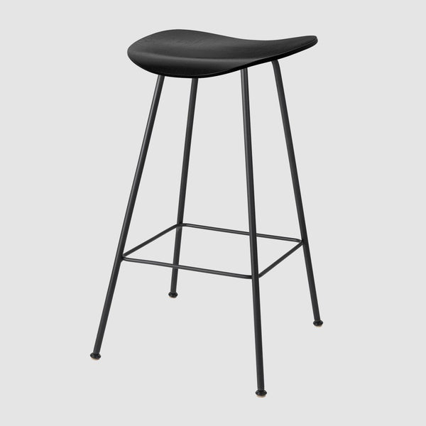 2D Counter Stool - Un-Upholstered, 65, Center Base