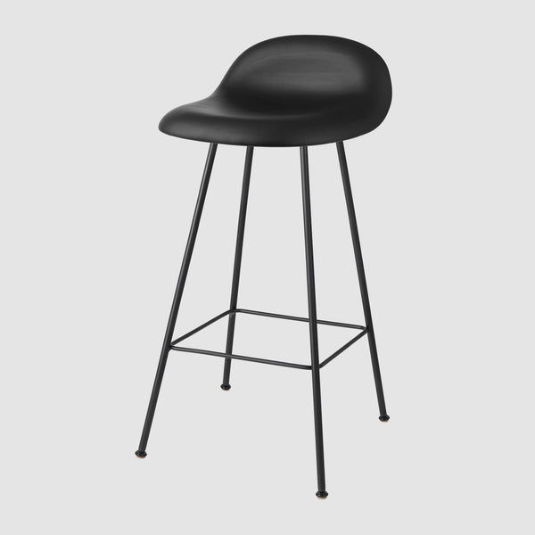 3D Counter Stool - Fully Upholstered - 65 cm - Center base