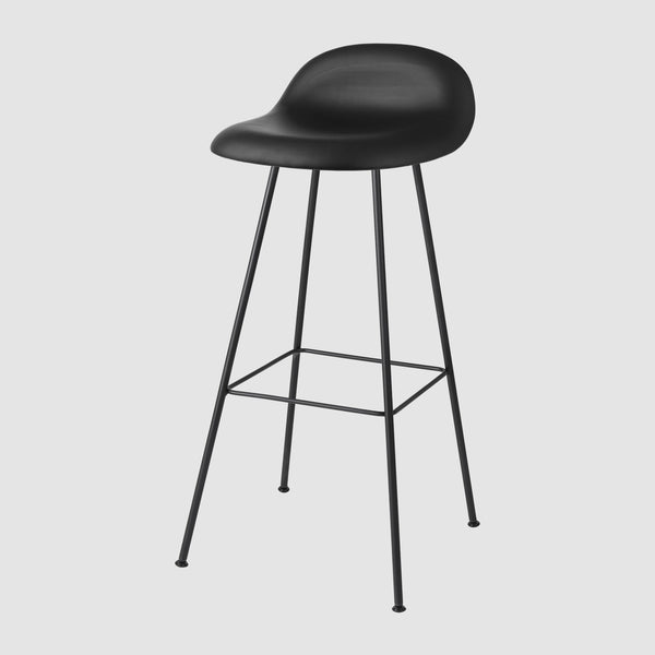 3D Bar Stool - Fully Upholstered - 75 cm - Center base