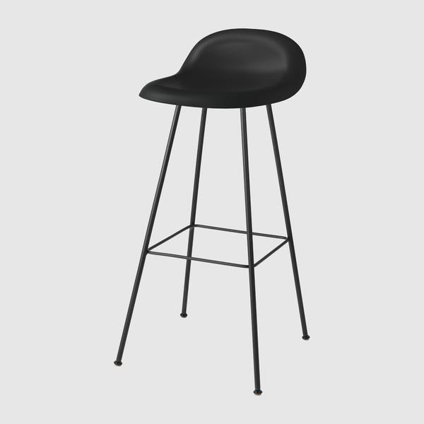 3D Bar Stool - Un-Upholstered, 75, Center Base