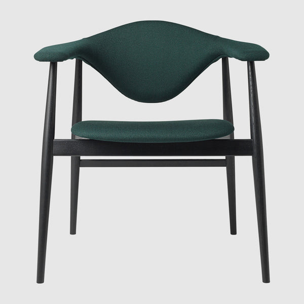 Masculo Dining Chair Fully Upholstered Wood Base