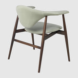 Masculo Dining Chair - Fully Upholstered - Wood base