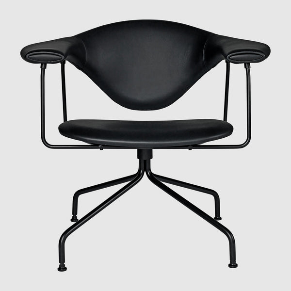 Masculo Lounge Chair - Fully Upholstered - Swivel base
