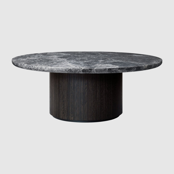 Moon Coffee Table - Round, 120cm diameter, Marble top