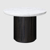 Moon Coffee Table - Round, 60cm diameter, Marble top