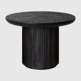 Moon Coffee Table - Round, 60cm diameter, Wood top