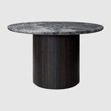 Moon Dining Table - Round, 120cm diameter, Marble top