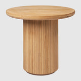 Moon Lounge Table - Round, 60cm diameter, Wood top
