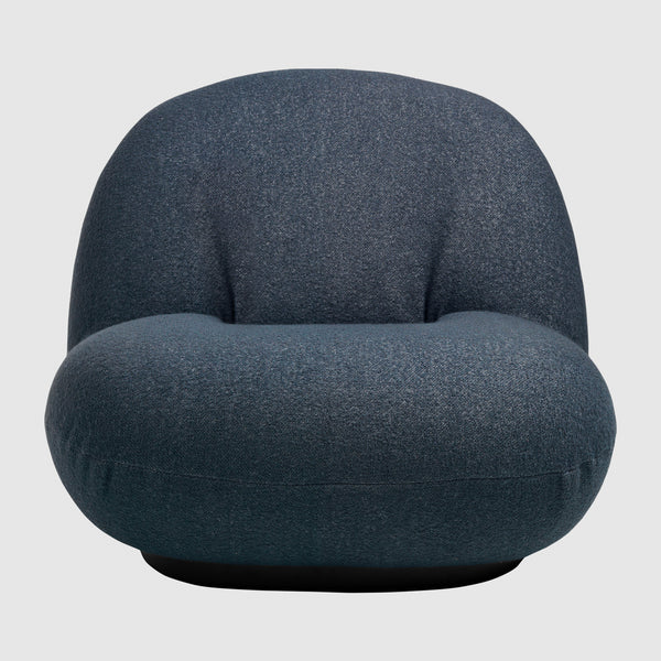 Pacha Lounge Chair - Fully Upholstered, Swivel Base