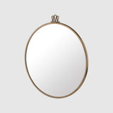 Randaccio Wall Mirror - Round - Dia. 60 - Antique Brass