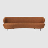 Stay Sofa - Oval, with wood legs