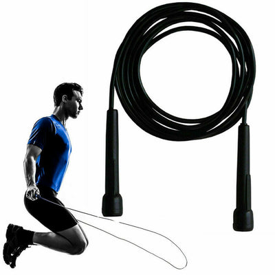 3m Speed Skipping Rope Nylon Cable Fitness Gym Exercise Crossfit Boxing