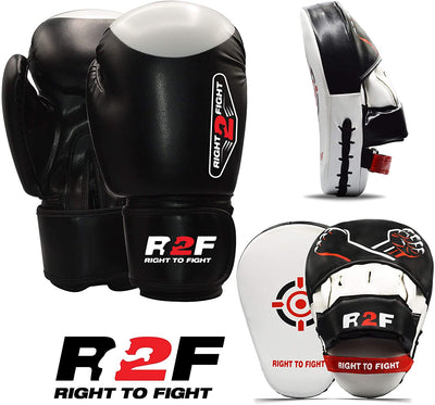 PUREFI Boxing Curved Punching Mitts face Targets for Fitness Practice Kickboxing Focus Mitts Rubber Kicking Pads for Karate