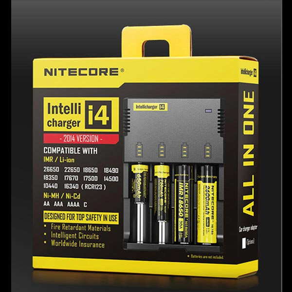 Nitecore Intellicharger i4 - Four Bay